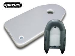 Sportex Air Deck Hochdruckluftboden NUTRIA 245 grau