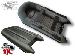 Schlauchboot EURO-SOM NUTRIA 325 K2 oliv-grün