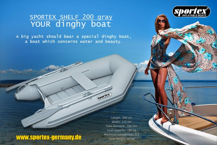 Beiboot Tenderboot dinghy Sportex