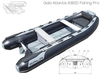 RIB Atlantis Double Deck A360D Fishing PRO