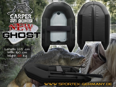 SPORTEX  Carper 225 Airdeck GHOST