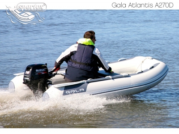 Gala Atlantis A270D Double Deck RIB