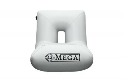Omega Aufblasbares Bootssitz S1 hellgrau