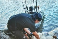 FBS  Flexibles abnehmbares Bootsrutenhalter 48mm