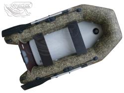 Schlauchboot Sportex Shelf 230 ASK Realtree Camouflage mit Airdeck